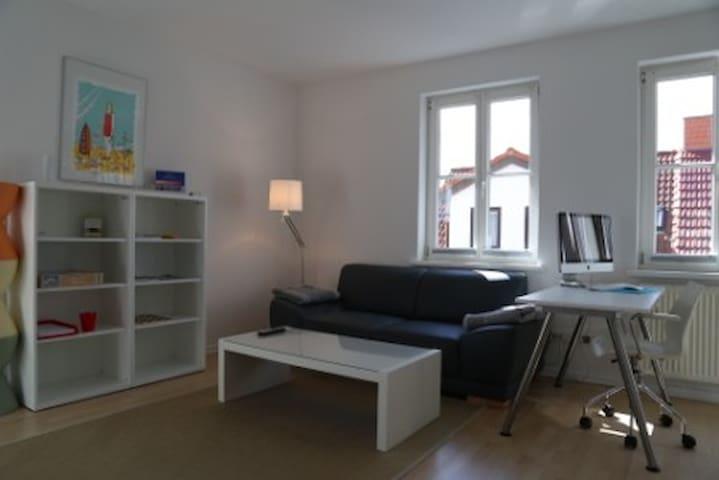 Moderne Ferienwohnung - FeWo 2 - Bergen auf Rügen
