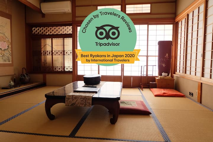 [HINODEYA] TRADITIONAL INN PRIVATE TATAMI ROOM R2