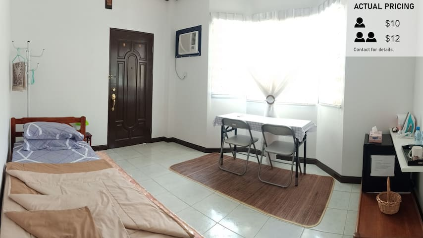 1 Room With 2 Single Beds and Private Bathroom