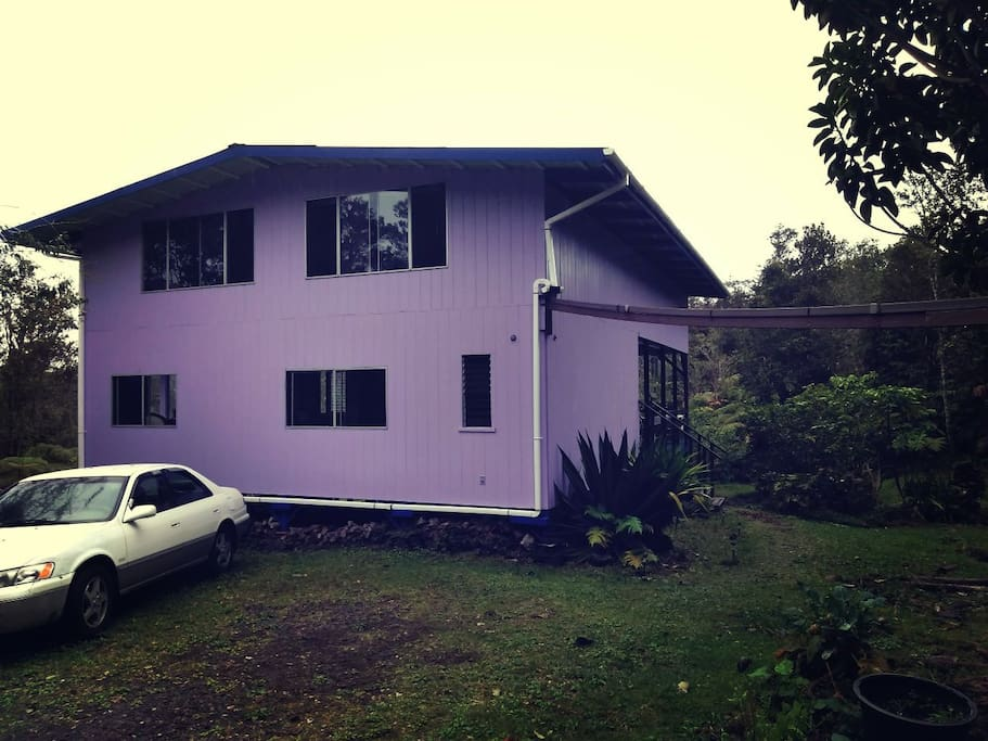 My beautiful big purple house