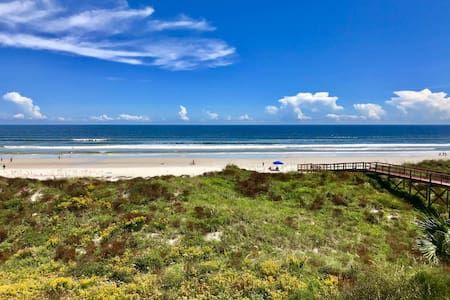 Beaches are Open!!! St Augustine Oceanfront Condo