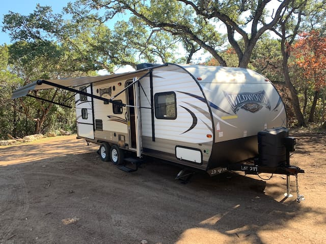 New RV in Old Town Helotes