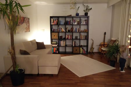 Bright 2BR rowhouse apt with SAUNA and backyard - Oulu