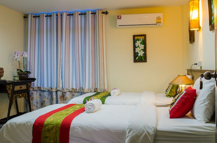 Dream Garden Villa(Twin Bed Room-4)
