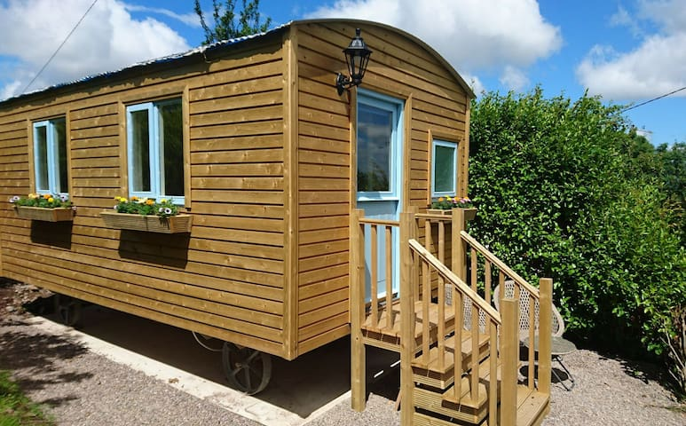 Shepherd's Hut - Glamping in the Ring of Kerry