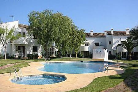 Pool, Montgó Mountain  and Beach - Denia - Bungalow