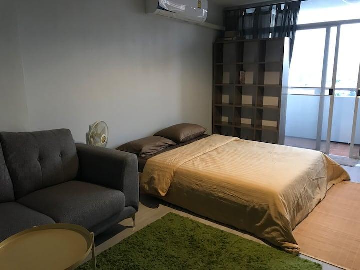 Private room clean, lowest Vibhavadi 52, Kasetsart