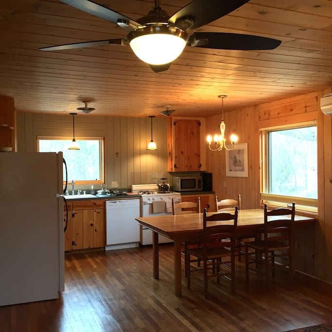 Spacious full kitchen with everything you need to entertain or cocoon.
