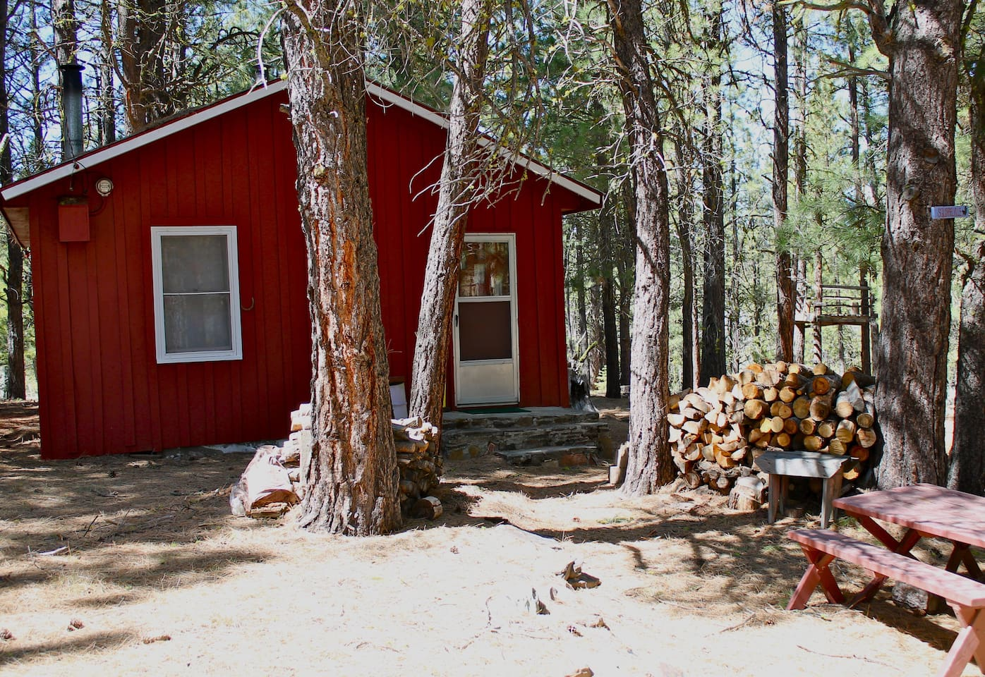 Squirrelville Cabin built in the early 1920s