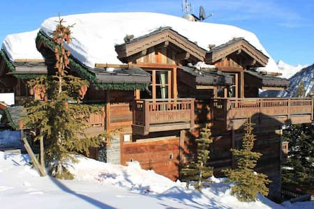 7 bd, ski, views, nightlife - Saint-Bon-Tarentaise - Villa