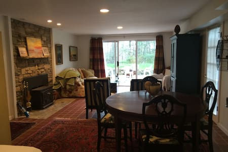 Private Suite on Historic Farm - Ellicott City - Rumah