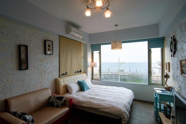 桑斯緹花蓮市區海景雙人套房 Suncity-Double Room - Hualien City - Wohnung