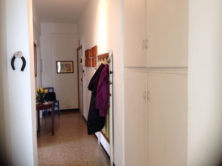 ingresso e corridoio