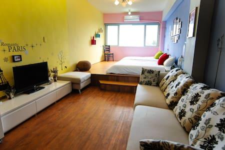 桑斯緹花蓮市區海景家庭房Suncity Family Room - Hualien City