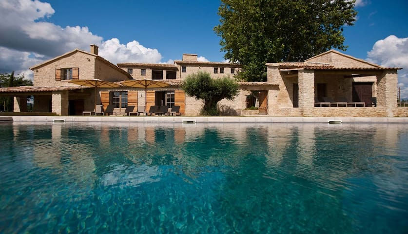 7 bd, garden, jacuzzi, pool - Oppède - Villa