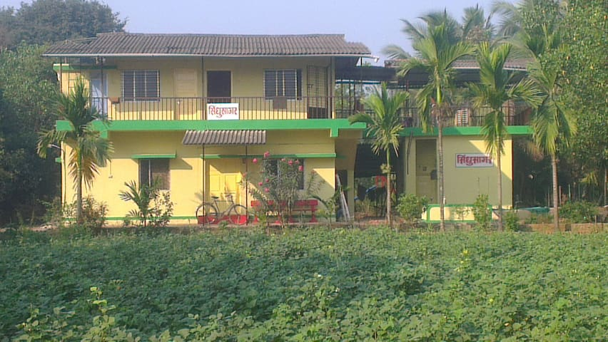 Holiday Home in farm specially for group. Natural