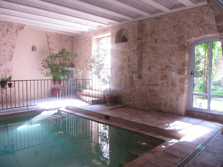 Luxury self catering flat Valmagne near Pézenas