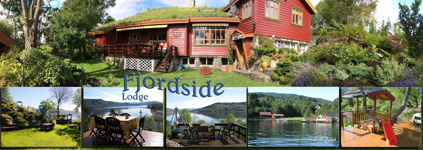 FJORDSIDE Lodge, 20km Bergen N, E39 - Bergen - Appartement