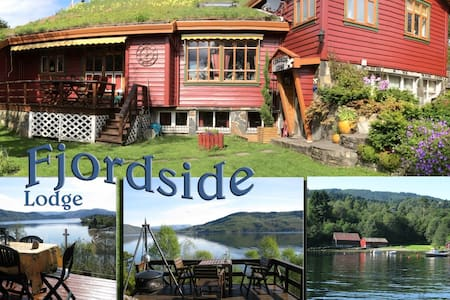 FJORDSIDE Lodge, 20km Bergen N, E39 - Bergen