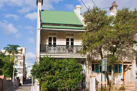 Double room - Eco House nr Central - Redfern