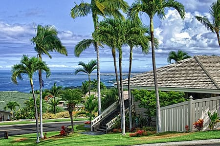 Keauhou, romantic ocean view house