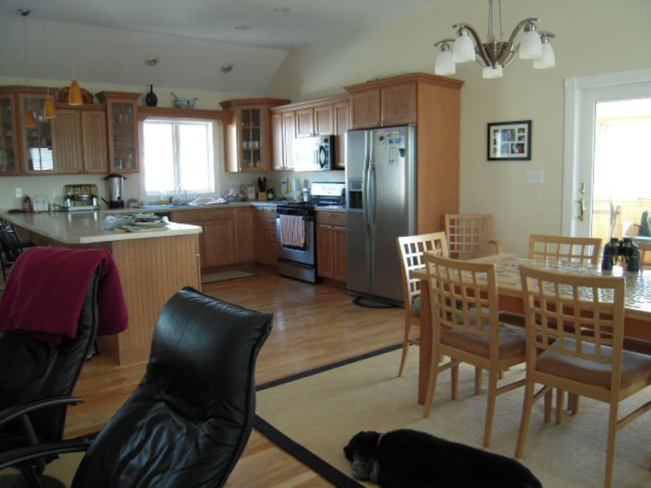 Upstairs Kitchen & Dining Room
