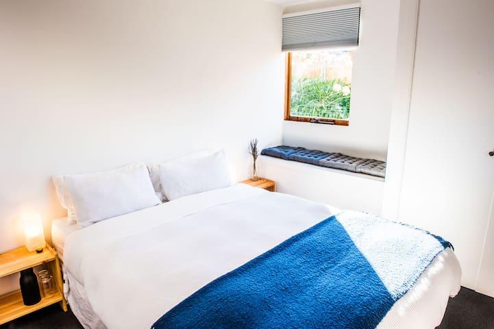 Sunny Room with Bay Window