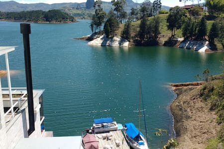 Amazing View Secluded Chalet in Guatape - El Peñol - Villa