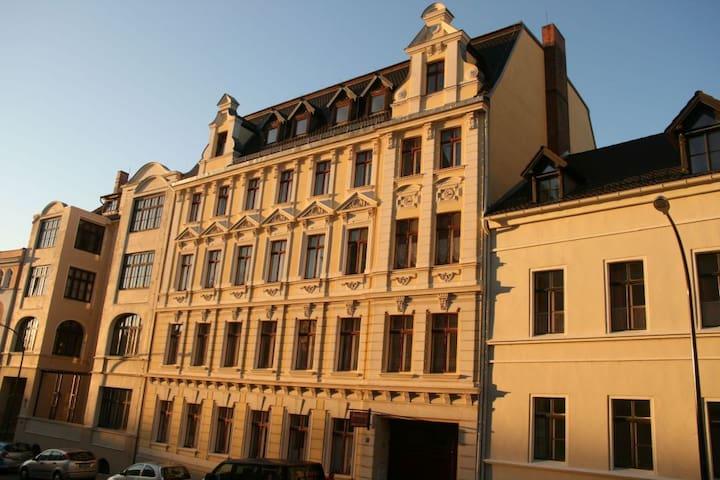Haus Gründerzeit, 3-Zimmer-Wohnung