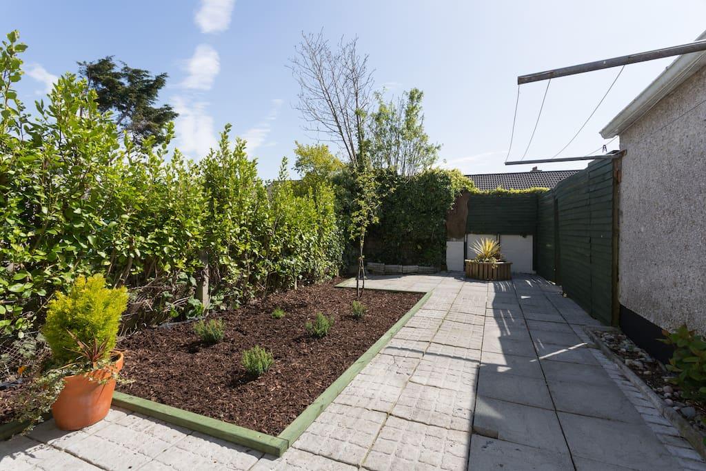 Safe, secure back garden