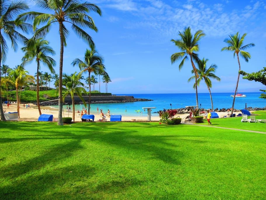 Owner access to Mauna Lani Beach Club.