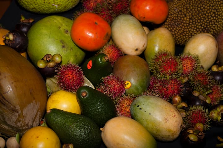 Enjoy the tropical tastes of the region