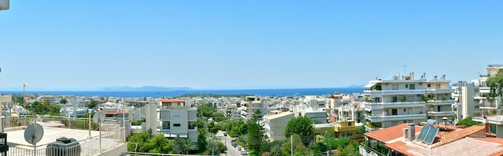 RHEA - GLYFADA SEA VIEW APARTMENT