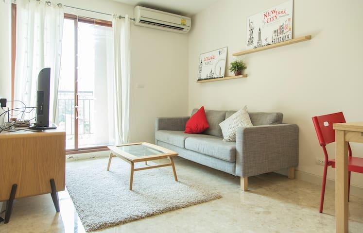 Chic&Cozy,BTS Ploenchit,Pocket WIFI - Pathumwan - Apartament