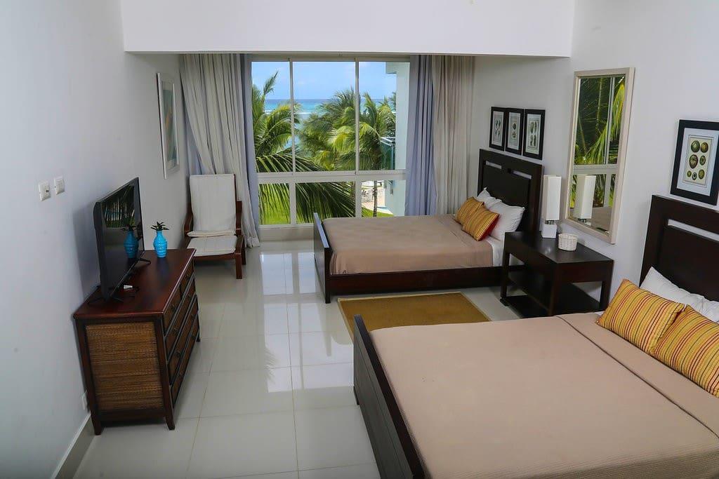 Habitación apartamento 3404, 4to. piso.