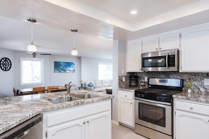 Serene Beach & Bay House! Garage/WiFi/Large Patio!