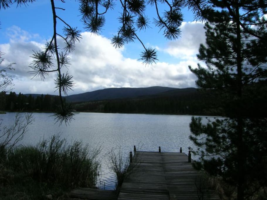 View from our dock.