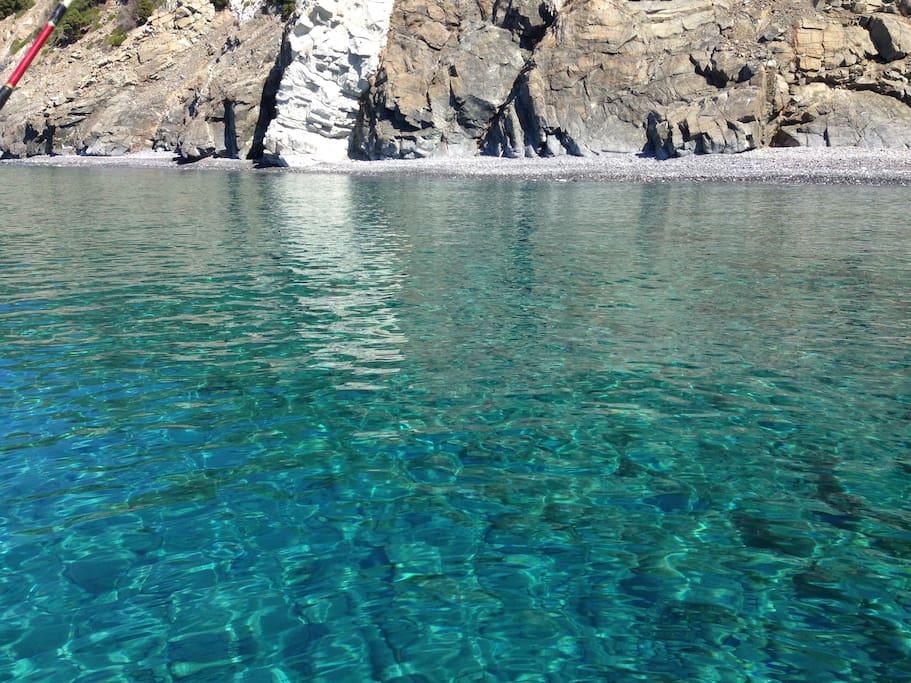 Il mare dell'Isola d'Elba