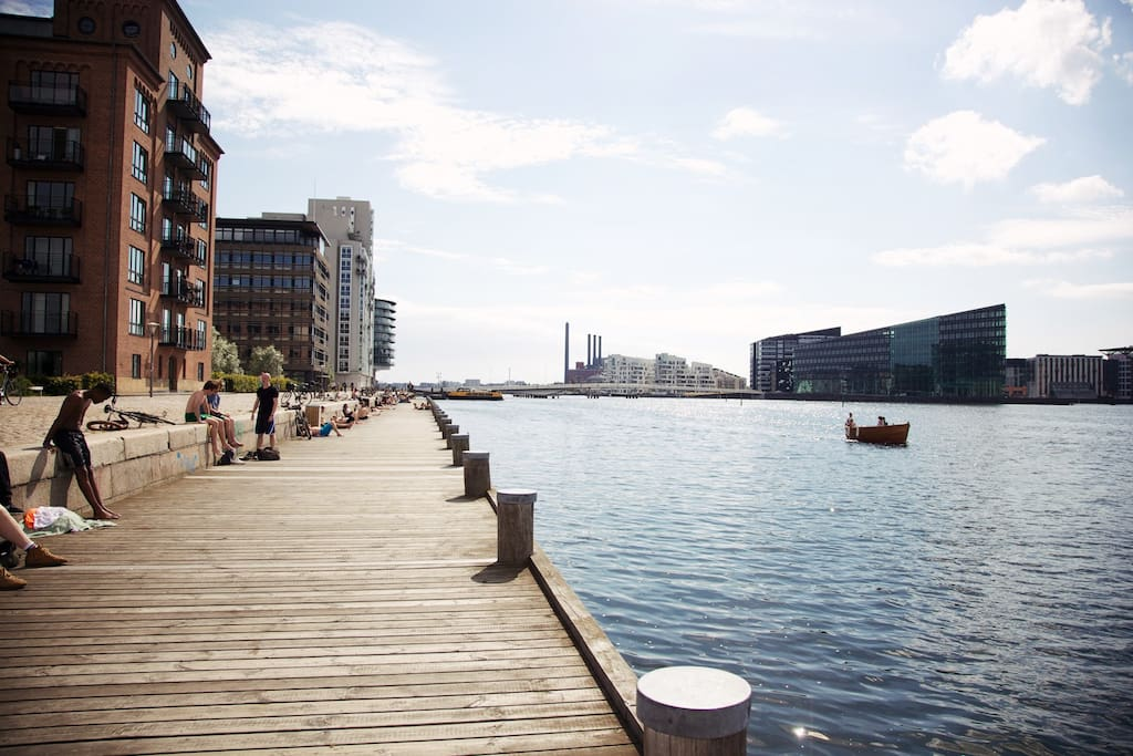 Beautiful Islands Brygge - only 15mins walking distance from the center.