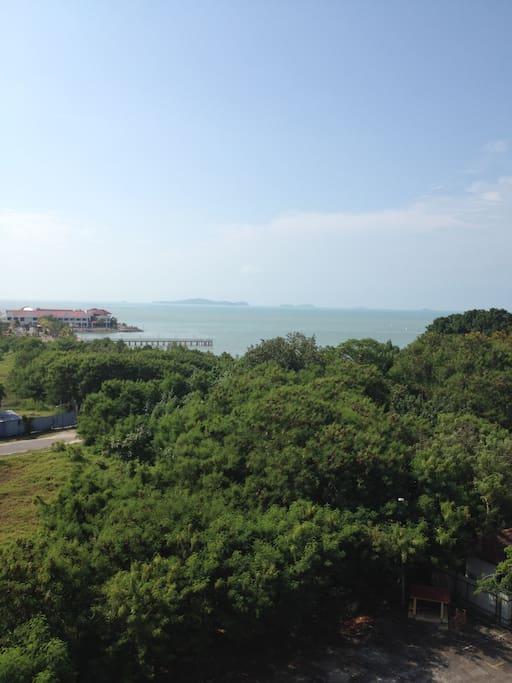Scenery from balcony