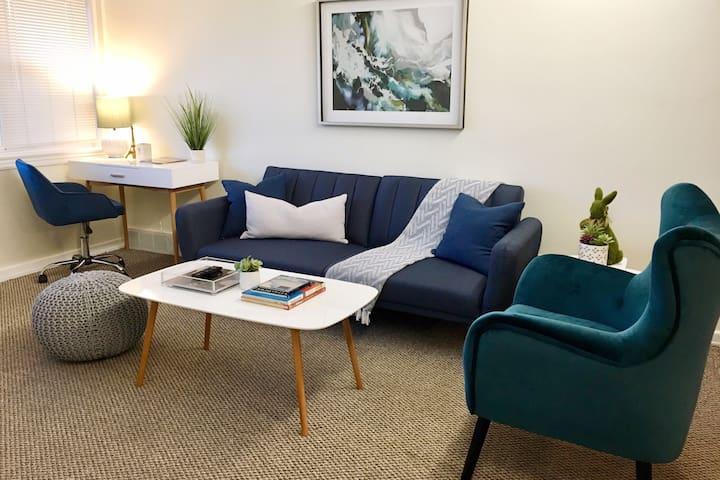 Newly Updated Modern U. City/Clayton Apartment
