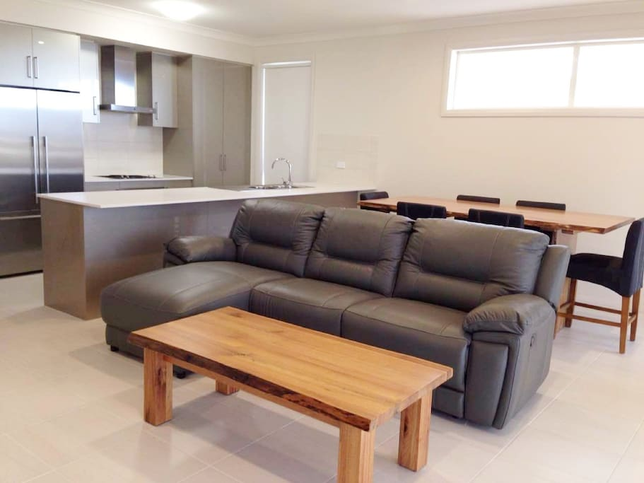 Brand new home with brand new furniture.