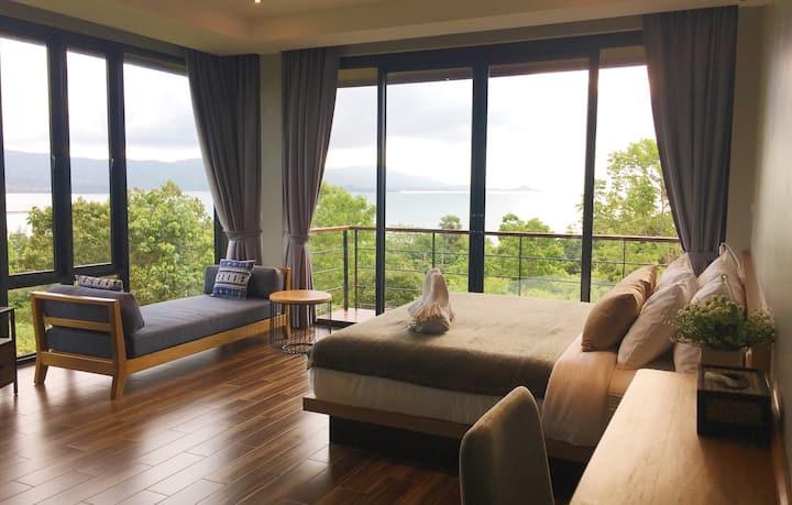 Kawavillasamui,1 BR,private pool villa &sea view