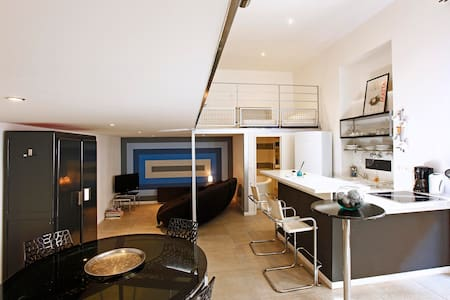 un loft design au port de nice - Nice