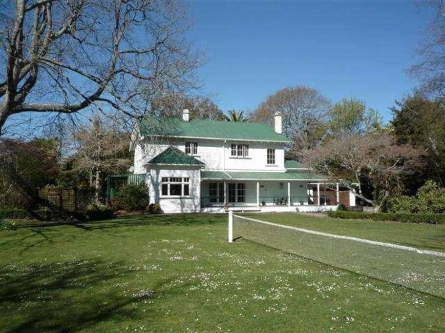 Oak leaf villa chambres d 39 h tes louer marton - La villa rahimona en nouvelle zelande ...