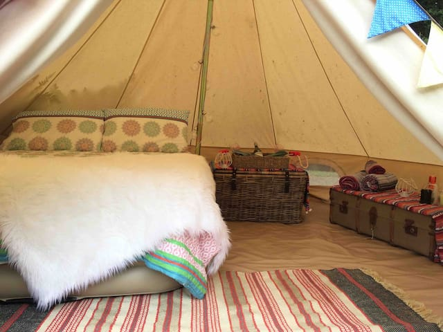 Glamping in magical mangawhai