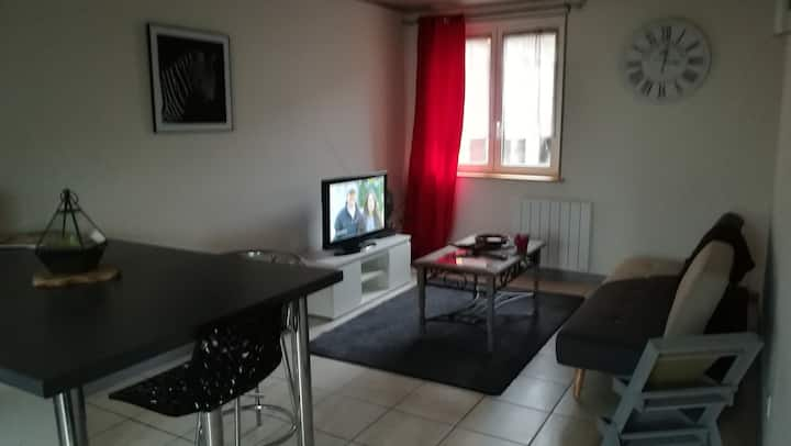 A Gérardmer direction Xonrupt appartement 48m2