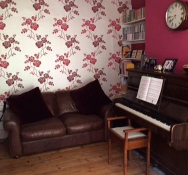 Cosy sitting room.