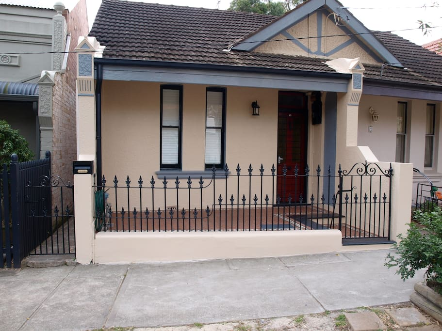 Victorian terrace house in great inner west suburb