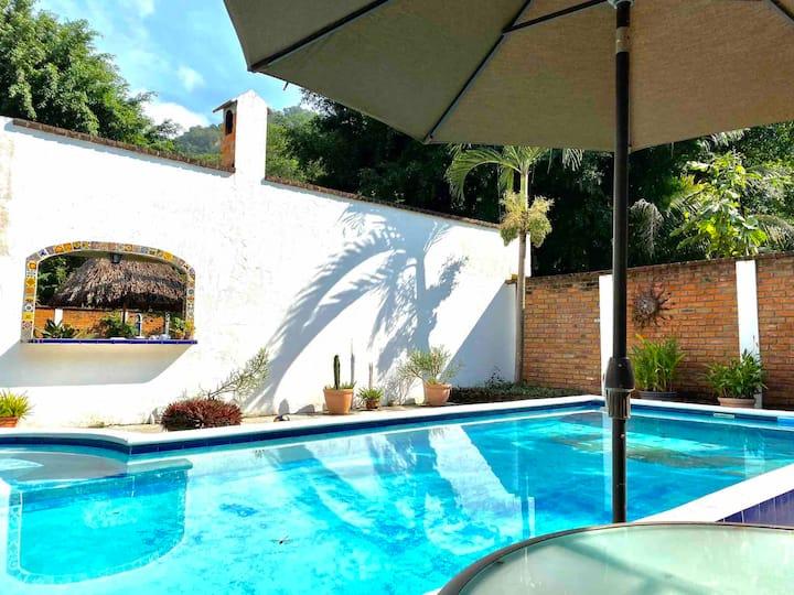 Dragonfly villa 6.5 south of Puerto Vallarta
